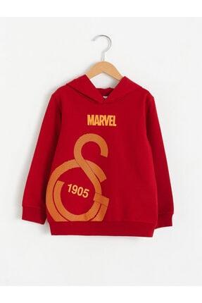LC Waikiki Galatasaray Erkek Çocuk Kırmızı Rds Sweatshirt