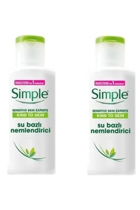 Simple Sensitive Skin Experts Su Bazlı Nemlendirici 125 Ml X 2 Adet 7777777177442