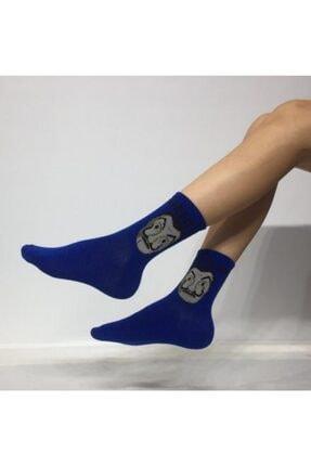 ADEL ÇORAP Kokulu Unisex Dali Desenli Kolej Çorabı