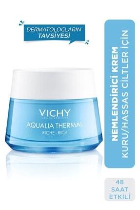 Vichy Aqualia Thermal Tüm Cilt Tipleri Için Nemlendirici Gece Bakım Kremi 50 Ml 3337875588225