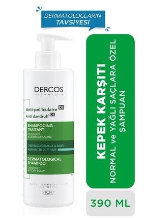 Vichy Dercos Anti-Dandruff Normal ve Yağlı Saçlar İçin Kepeğe Karşı Etkili Bakım Şampuanı 390 ml