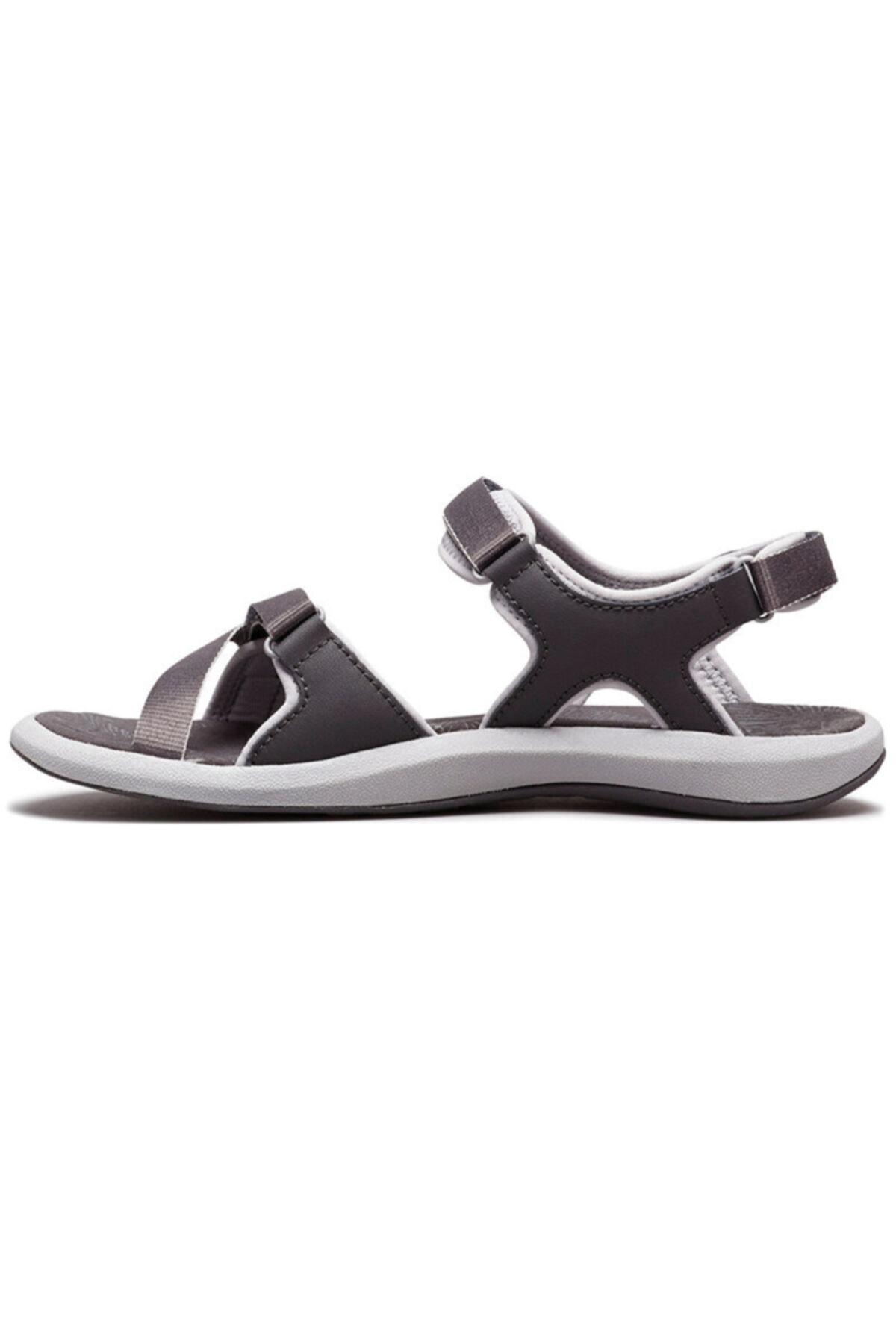 Columbia Kadın Siyah Cırtlı Sandalet 2