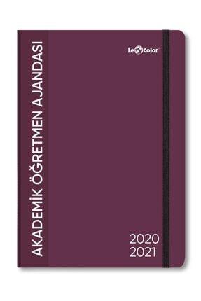 Le Color Akademik Öğretmen Ajanda 2021 Stıckerli 80gr 20x27