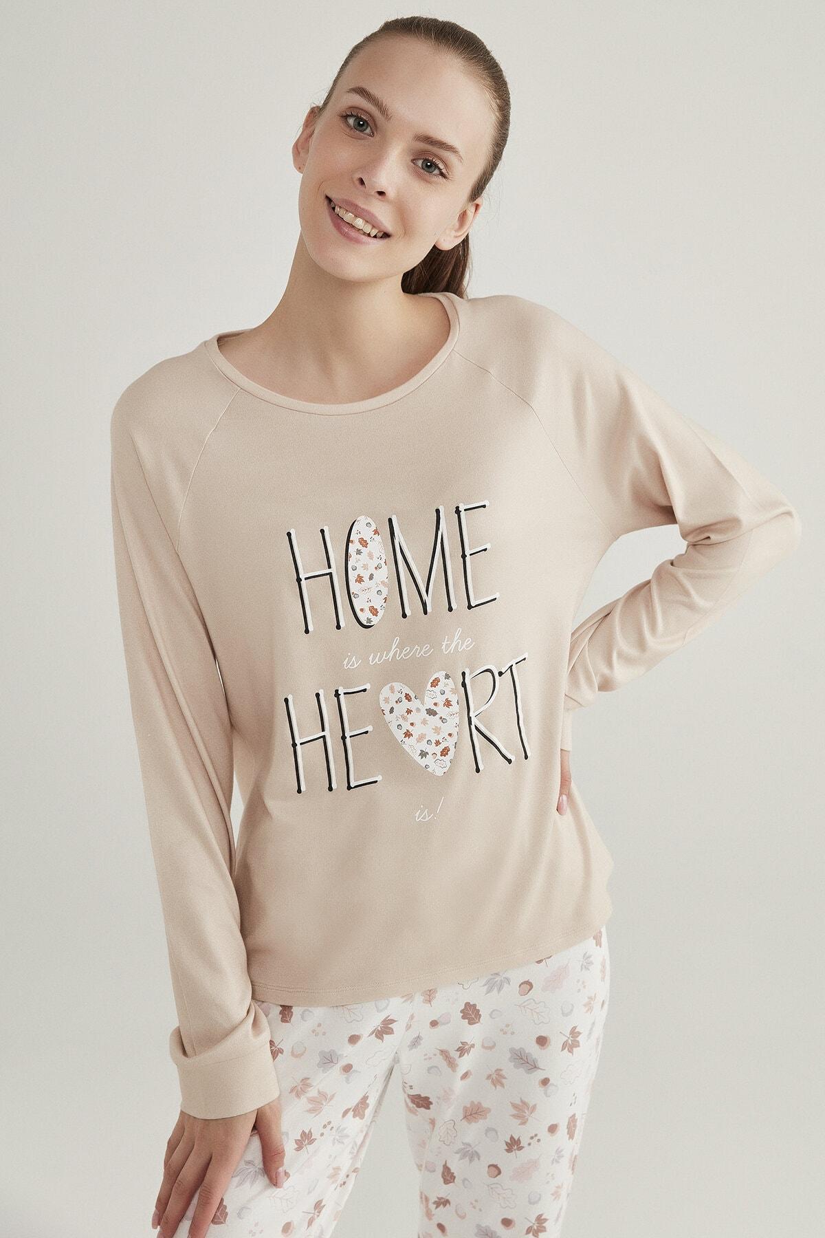 Penti Kadın Acorn Termal Tişört 1