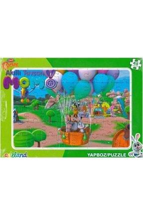 ADELAND Trt Çocuk Akıllı Tavşan Momo Frame Puzzle 48'parça