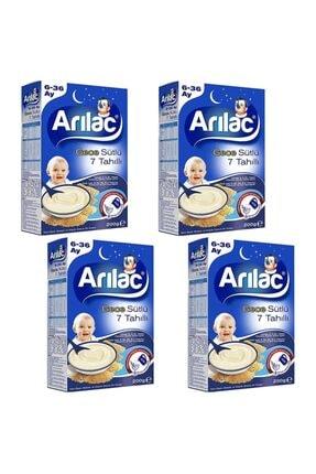 Arılac Gece Sütlü 7 Tahıllı Bebek Ve Küçük Çocuk Ek Gıdası 200 gr 4 Adet