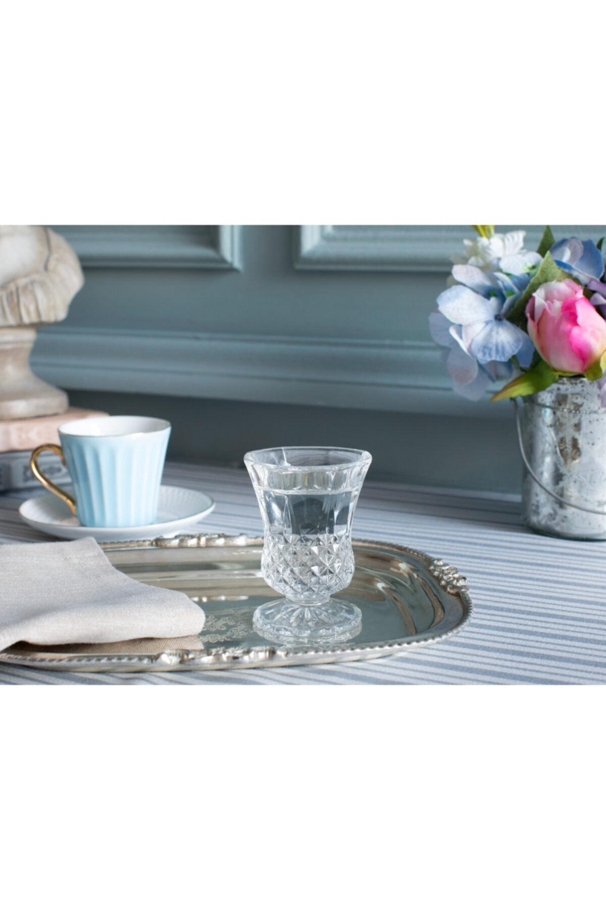 Madame Coco Audrey 4'lü Ayaklı Kahve Yanı Bardağı Seti 1