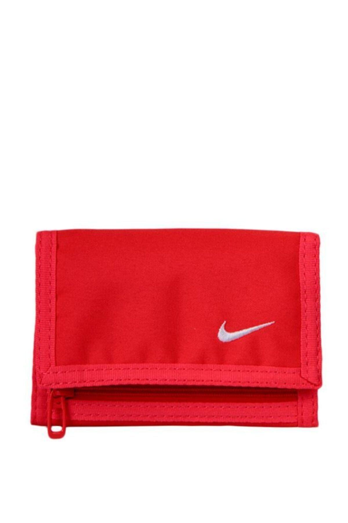 Nike Unisex Basic Wallet Spor Cüzdan Kırmızı 1