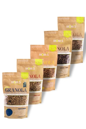 Mom's Natural Foods 5'li Mix Granola