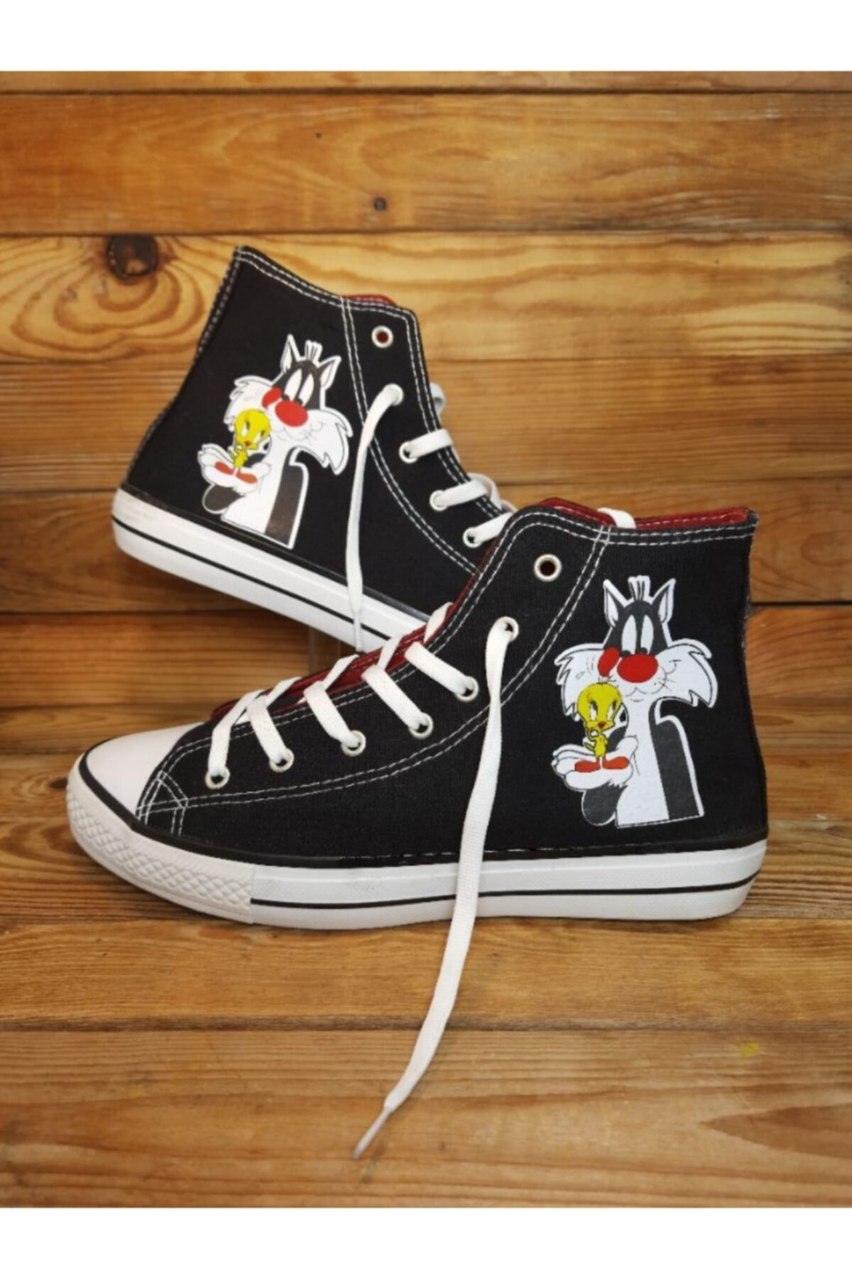 Amazoonkids Unisex Siyah Silvestire Sneaker 1