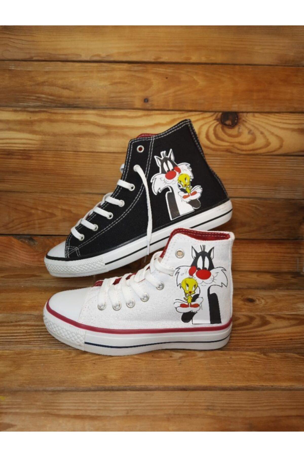 Amazoonkids Unisex Siyah Silvestire Sneaker 2