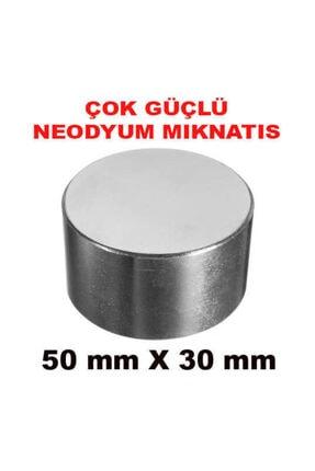 Dünya Magnet Çok Güçlü Neodyum Mıknatıs 50mm X 30mm