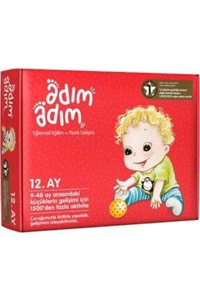 Adım Adım Yayınları Adım Adım Bebek Eğitim Seti 12.ay