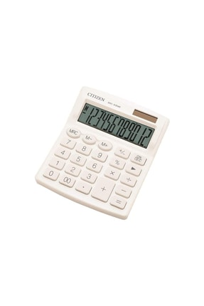 Citizen Sdc-812nrwhe Hesap Makinesi Beyaz