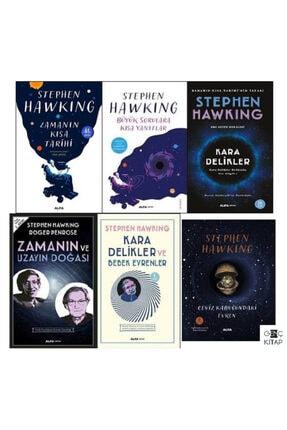 Alfa Yayınları Stephen Hawkıng 6 Kitap Set Zamanın Kısa Tarihi Büyük Sorulara Kısa Yanıtlar Ceviz Kabuğundaki Evren