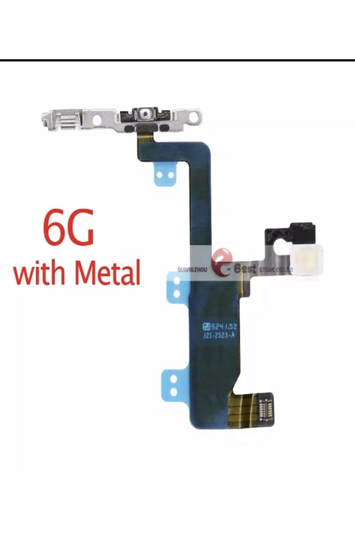 ucuzmi Iphone 6 Power Ve Üst Mikrofon Flex Tuşu Tam Kalite Iç Aksam Teknik Servis Ürünü 1
