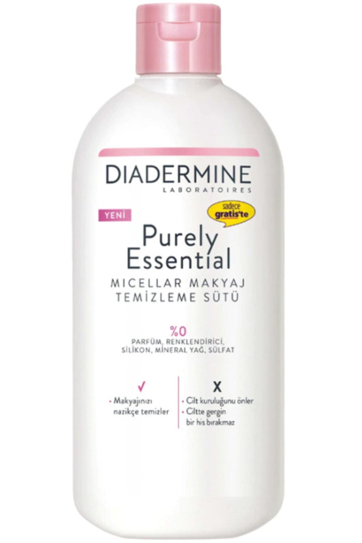 Diadermine Purely Essential Micellar Makyaj Temizleme Sütü 400 Ml 1