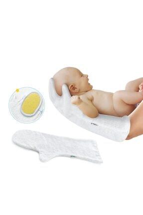 Babyjem Bebek Yıkama Eldiveni 468 Beyaz