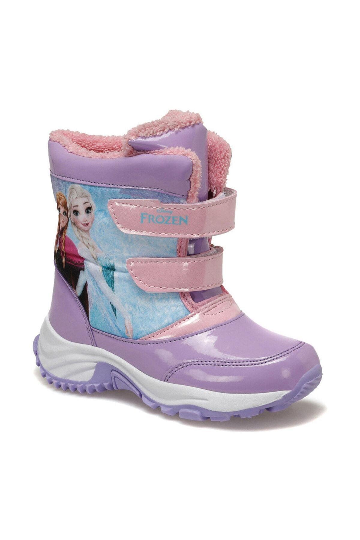 Frozen 92.LOLY-3.P Lila Kız Çocuk Kar Botu 100406402 1