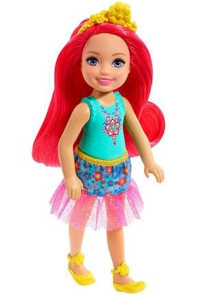 Barbie Dreamtopia Chelsea Prenses Bebekler Kırmızı Saçlı