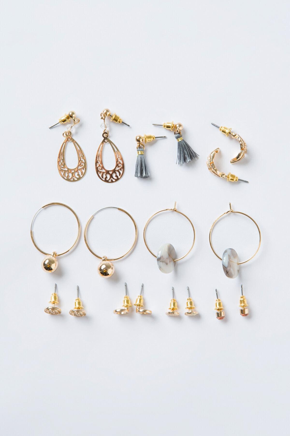 Penti Gold Amata Küpe Set 1