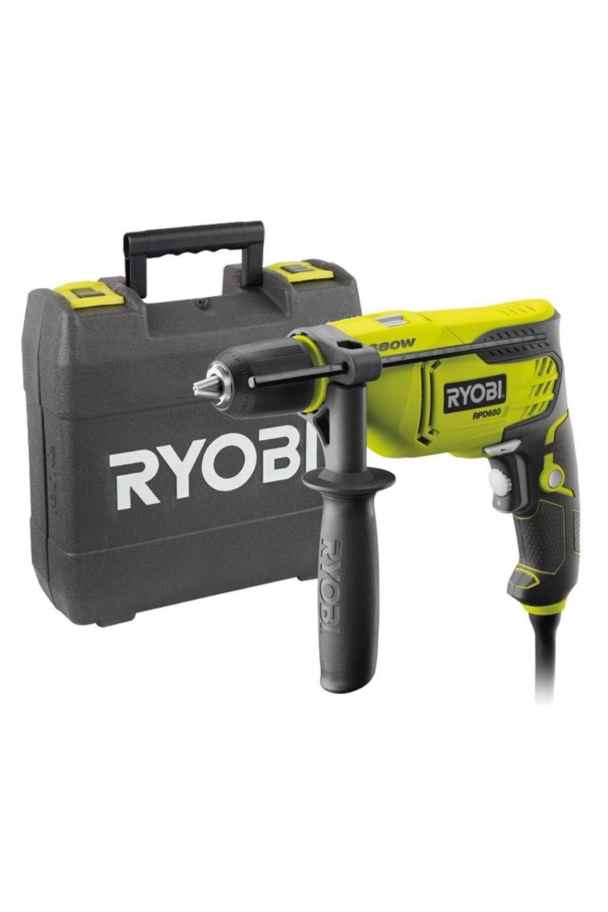 Ryobi Rpd680k Darbeli 680watt 13 mm Matkap 1