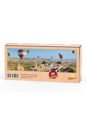 King Of Puzzle Peri Bacaları Kapadokya - Nevşehir Panoramik Ahşap Puzzle 300 Parça