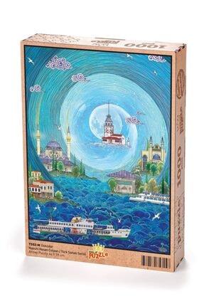King Of Puzzle Üsküdar - Nasuhi Hasan Çolpan Ahşap Puzzle 1000 Parça