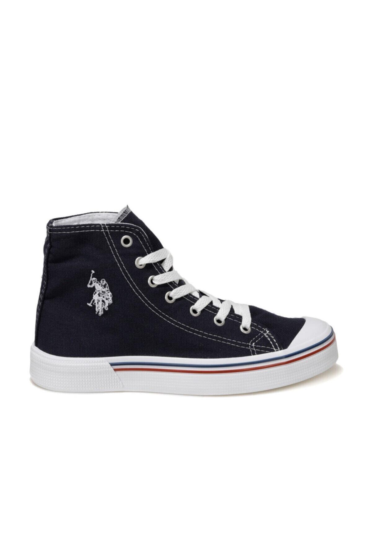 U.S. Polo Assn. PENELOPE HIGH 1FX Lacivert Kadın Havuz Taban Sneaker 100910635 2