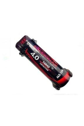 AUDİOMAX Audıomax Mx-104 4 Farad -ledli-remoteli-power Anfi Kapasitör