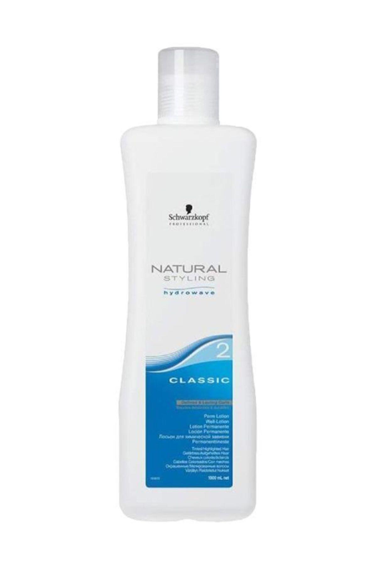 SCHWARZKOPF HAIR MASCARA Natural Styling Kla Perma Ilacı No 2 1000 ml 1