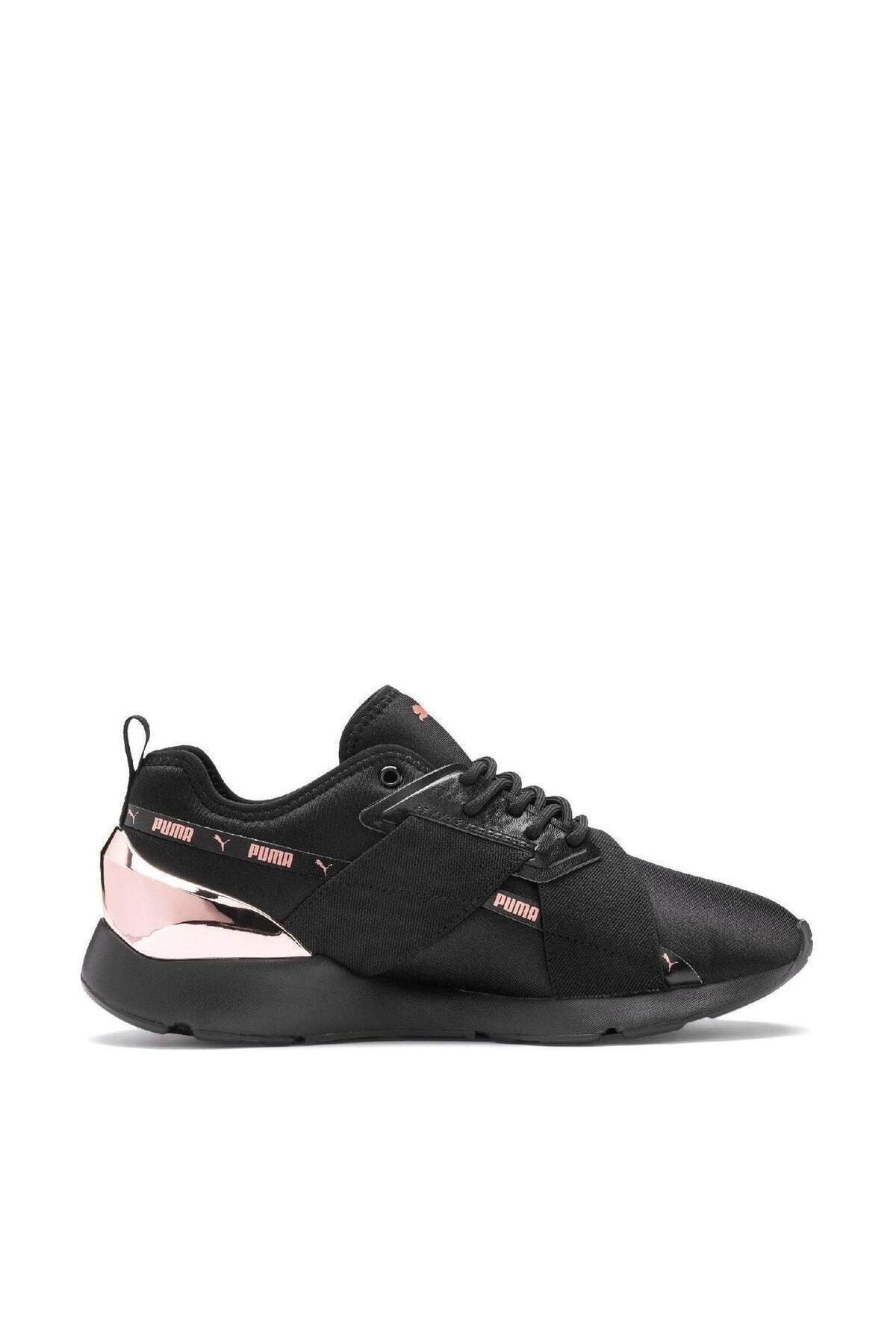 Puma Muse X-2 Metallic Wn S Kadın Spor Ayakkabı - 37083801 1