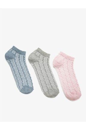 Koton Kadın Mavi Çorap Seti