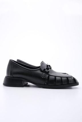 Marjin Kadın Siyah Loafer Ayakkabı Jenay