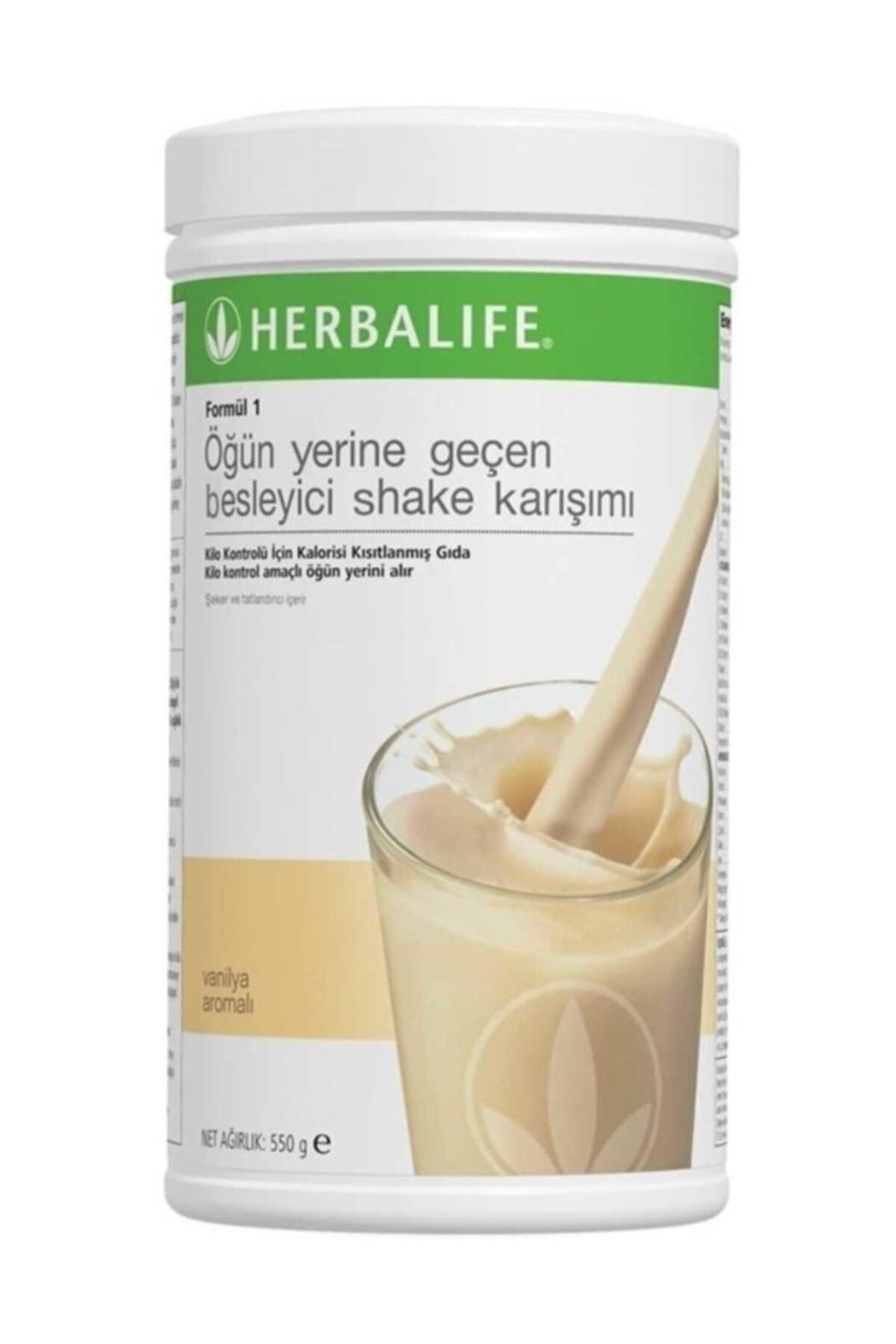 Herbalife Formül 1 Öğün Yerine Geçen Besleyici Shake Karışımı Vanilya 550 gr. 1