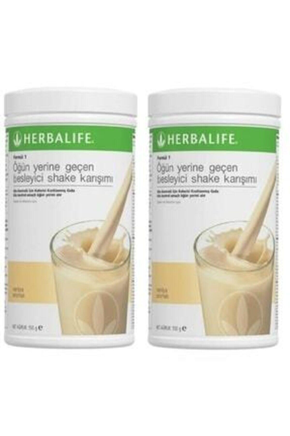 Herbalife Formül Besleyici Shake Karısımı Vanilya 2 Adet 1
