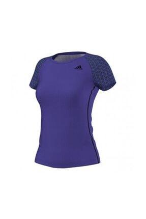 adidas Kadın Tişörtü Mor Gs Easy Tee S17568