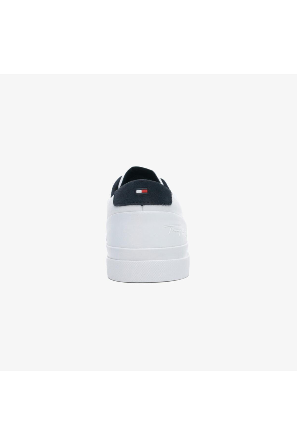 Tommy Hilfiger Corporate Erkek Beyaz Spor Ayakkabı 2