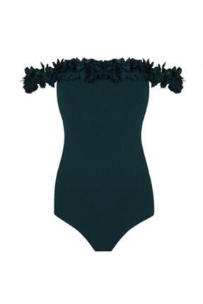 Nur Karaata Kadın Acı Yeşil Mayo Fmnk1