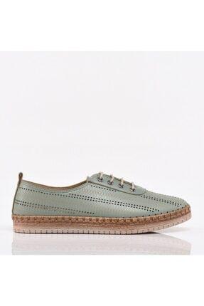 Hotiç Yeşil Yaya Kadın Günlük Ayakkabı