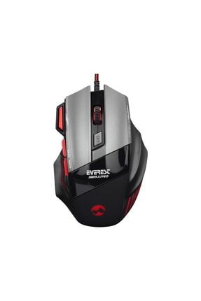 Everest Sgm-x7 Pro Silver 7200dpı Makrolu Gaming Oyuncu Mouse