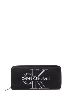 Calvin Klein Black Kadın Ckj Sculpted Mono Kadın Cüzdanı K60k607631
