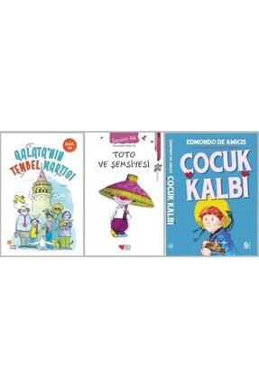 Günışığı Kitaplığı Galata'nın Tembel Martısı & Toto Ve Şemsiyesi & Çocuk Kalbi