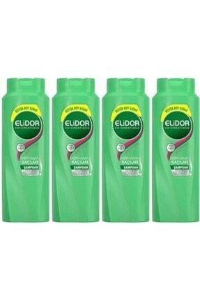 Elidor Sağlıklı Uzayan Saçlar Için Şampuan 650 ml 4 Adet