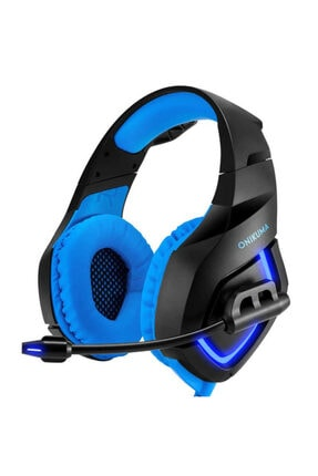 zore Oyuncu Kulaklığı Gaming Surround Extra Bass 3.5mm Jack Mikrofonlu Ledli Süngerli