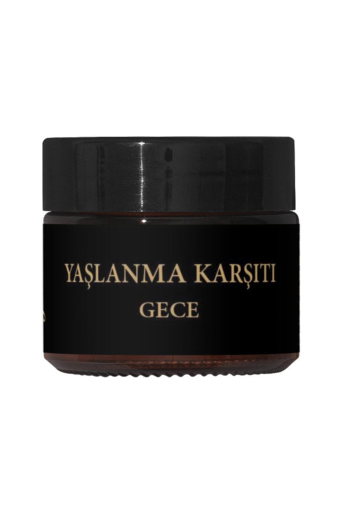 Handeresi Altın Krem Gece-ölmez Çicek Otu Özlü %100 Bitkisel Kırışıklık Giderici Krem 2