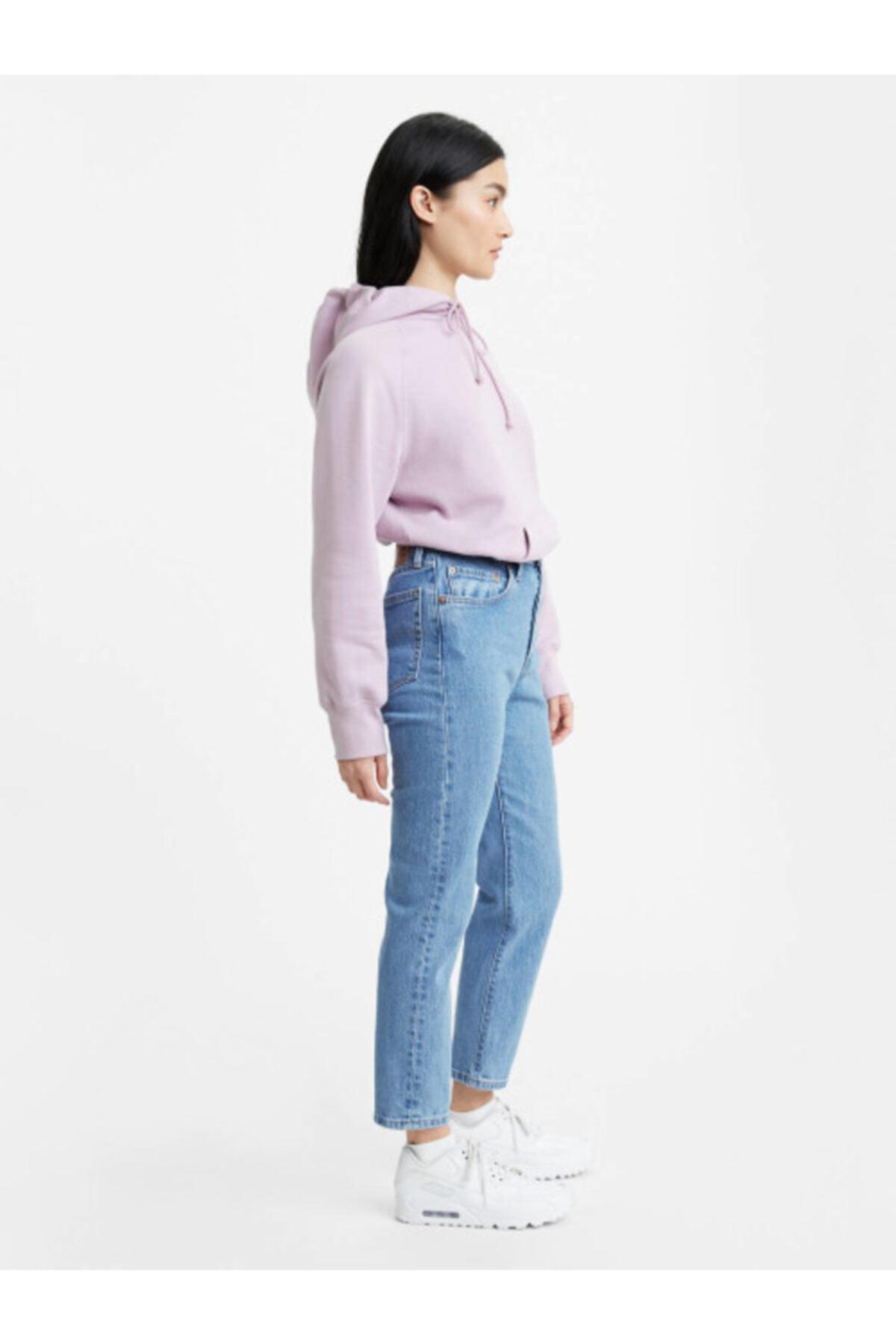 Levi's Kadın Mavi Yüksel Bel Jeans 2