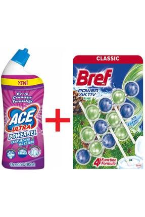 Bref Ace Ultra Çamaşır Suyu 810 G + Klozet Bloğu 3'lü
