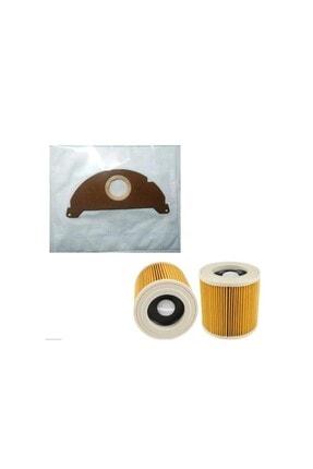 Karcher Wd2 Toz Torbası 5 Adet ve Filtre Seti