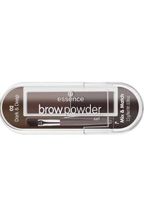 Essence Brow Powder - Kaş Farı No: 02 Dark/ Deep